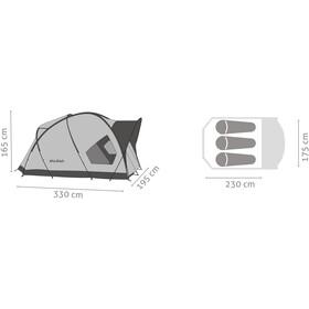 SALEWA Alpine Hut III Teltta, cactus/grey